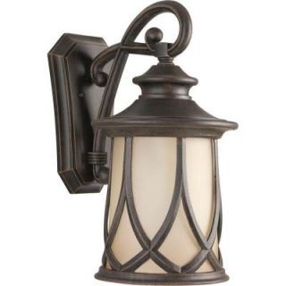 Progress Lighting Resort Collection Aged Copper 1 Light Wall Lantern P5989 122