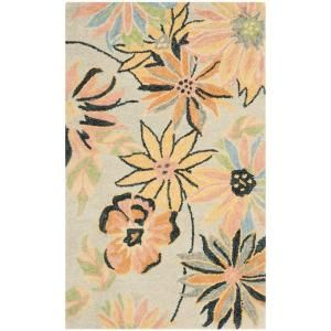 Safavieh Blossom Light Blue/Multi 3 ft. x 5 ft. Area Rug BLM789A 3