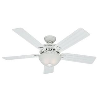 Hunter Beachcomber 52 in. White Ceiling Fan 53122