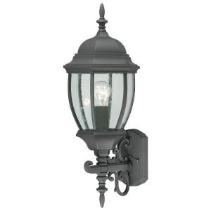 Thomas Lighting Covington Wall Mount 1 Light Outdoor Black Lantern SL92277