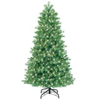 GE 6.5 ft. Pre Lit Just Cut Bavarian Pine Artificial Christmas Tree with Clear Lights 16668HD