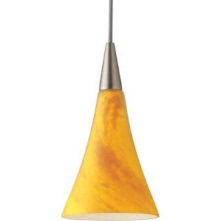 Progress Lighting Illuma Flex 1 Light Brushed Nickel Pendant P6140 09Y