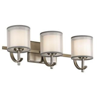 Hampton Bay 3 Light Antique Pewter Wall Vanity 89574