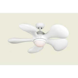 Hampton Bay Myron 36 in. Indoor White Ceiling Fan 36LGM L
