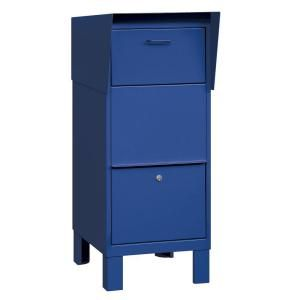 Salsbury Industries 4900 Series Courier Box in Blue 4975BLU