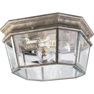 Progress Lighting Crawford Collection Golden Baroque 2 light Outdoor Flushmount DISCONTINUED P5535 50