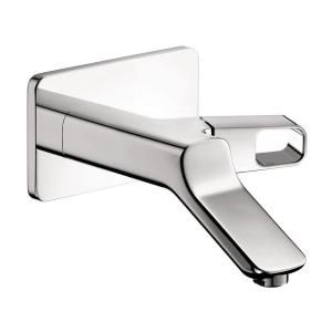 Hansgrohe Axor Urquiola Wall Mount 1 Handle Bathroom Faucet Trim Kit in Chrome (Valve Not Included) 11026001