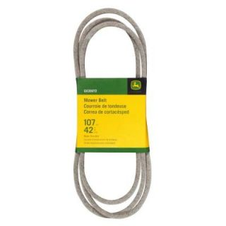 John Deere 42 in. Mower Belt for Select John Deere Mowers GX20072