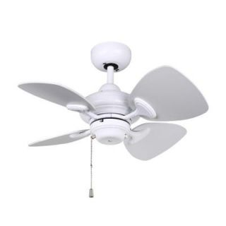 Designers Choice Collection Aires 24 in. White Ceiling Fan AC16324 WH