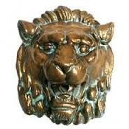 Jandy 20807 Aqua Accents Roman Lion Head, 8 1/2 x 10 1/2 Bronze