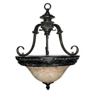 Yosemite Home Decor Verona Collection 3 Light Hanging Pendant F023E03SB