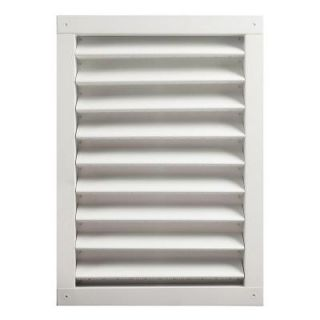 Master Flow 18 in. x 24 in. Aluminum Wall Vent in White DA1824W
