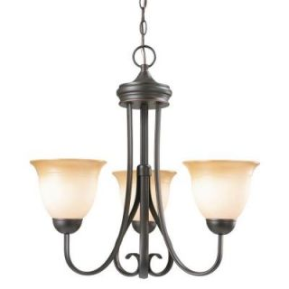 Design House Cameron 3 Light Oil Rubbed Bronze Chandelier 512707