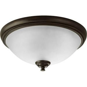 Progress Lighting Pavilion Collection 2 Light Antique Bronze Flush Mount P3479 20
