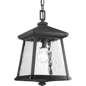 Progress Lighting Mac Collection 1 Light Outdoor Black Hanging Lantern P5559 31