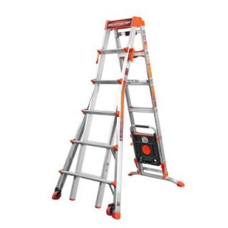 Little Giant Ladder 10 ft. Select Step Aluminum Multi Position Ladder with 300 lb. Load Capacity Type IA Duty Rating 15109 001