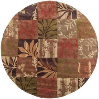 Artistic Weavers Meredith Avocado Green 8 ft. Round Area Rug MERE 8818