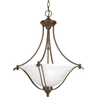 Progress Lighting Avalon Collection 3 Light Antique Bronze Foyer Pendant P3773 20