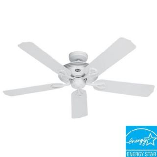 Hunter Mariner 52 in. Indoor/Outdoor White Ceiling Fan 21955