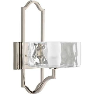 Thomasville Lighting Caress Collection 1 Light Polished Nickel Wall Sconce P7046 104WB