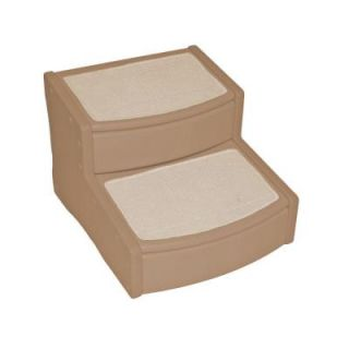 Pet Gear 22 in. L x 20 in. W x 16 in. H Easy Steps II Extra Wide Pet Stair in Tan PG9720XLTN