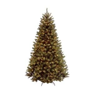 National Tree Company 7.5 ft. North Valley Spruce Hinged Tree with 500 Multi Function Dual LED Lights NRV7 324D5 75