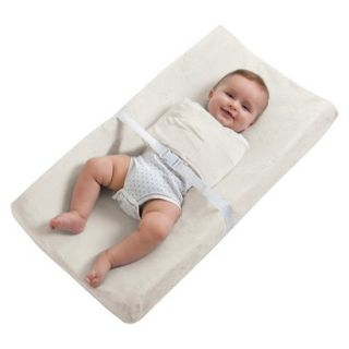 Changing Pad Cover w/ Built in Swaddle Feature   Cream by Halo