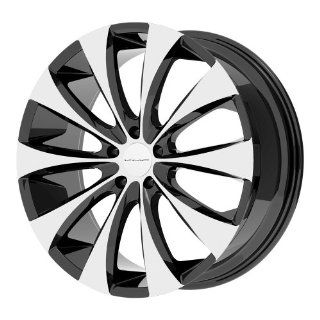 "KMC Wheels KM679 Wheel with Gloss Black Machined (18x8""/5x120mm) Automotive"