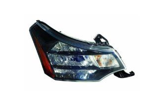 OE Replacement Ford Focus Passenger Side Headlight Assembly Composite (Partslink Number FO2503269) Automotive