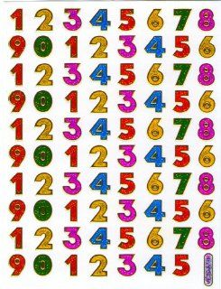 Glittery Number Digit Numeral Letter Character Decal Ornamental Stickers for Decorate Scrapbook Greeting Card Notebook Cell Phone Mobile Phone Decorative Stickers Ornament G  Other Products