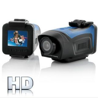 "Audel 1080P HD Mini Sports Camera ""Surf N Turf""   1.5 Inch Screen, Waterproof, HDMI  Camcorders  Camera & Photo"