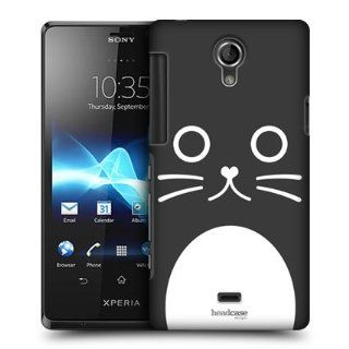 Head Case Designs Catalina The Cat Cartoon Animal Faces Hard Back Case Cover For Sony Xperia T LT30P Cell Phones & Accessories