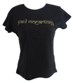 Rock Solid Shirts Paul McCartney Driving USA Tour 2002 Tee   Medium   Black Clothing