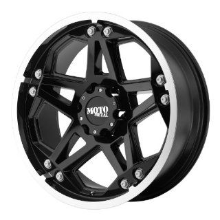 Moto Metal MO960 17x8 Black Wheel / Rim 6x5.5 with a 0mm Offset and a 106.25 Hub Bore. Partnumber MO96078068300 Automotive