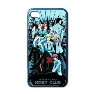 Host Club Manga Anime Cool Unique Design iphone 4 4S Cases Cover Cell Phones & Accessories