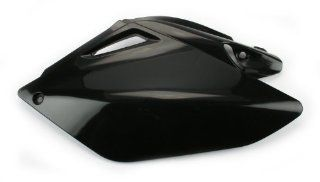 Cycra 1CYC 2885 12 Black Plastic Motorcycle Side Number Panel Automotive
