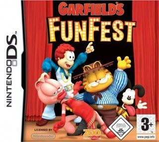 GARFIELD FUN FEST Video Games