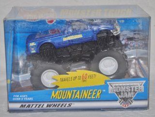 "Hot Wheels ""Mountaineer"" Monster Truck Monster Jam Friction Vehicle"