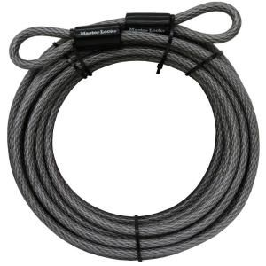 Master Lock 30 ft. Heavy Duty Vinyl Coated Galvanized Steel Braided Cable 70DCC