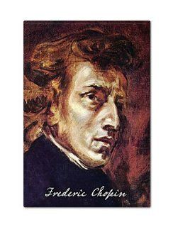 Frederic Chopin Fridge Magnet  Refrigerator Magnets