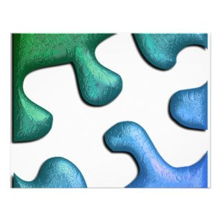 Jigsaw Puzzle Piece Invitation