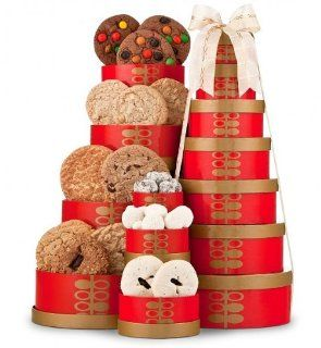 Cookie Tower. (Gift Basket for Mom, Gift Baskets for Moms Birthday, Gift Baskets for Mothers Day, Gift Baskets for Men Get Well, Gift Baskets, Gift Baskets for Women, Gift Baskets for Kids, Gift Baskets for Men, Gift Baskets for Mom, Gift Basket for Women,