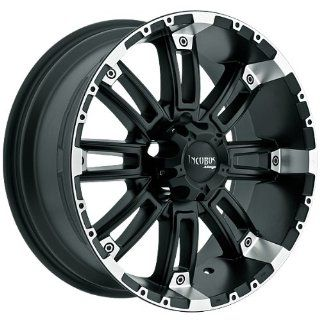 Incubus Crusher 17x9 Black Wheel / Rim 5x4.5 with a 12mm Offset and a 83.70 Hub Bore. Partnumber 816790545+12FBLM Automotive