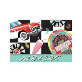 50s Sock Hop Rock & Roll Party Invitations Case Pack 4  Other Products