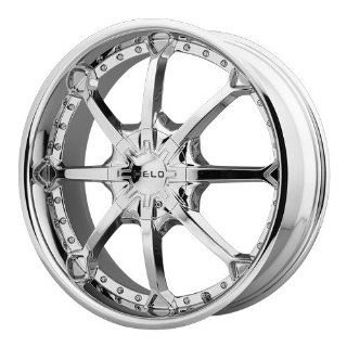 Helo HE871 22x9 Chrome Wheel / Rim 6x135 & 6x5.5 with a 15mm Offset and a 106.25 Hub Bore. Partnumber HE87122967215 Automotive