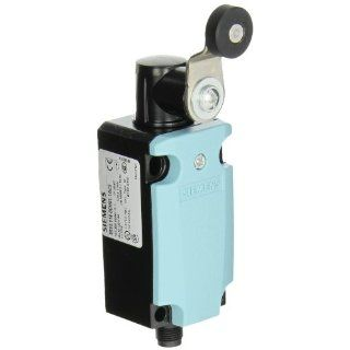 Siemens 3SE5 114 0CH01 1AC5 International Limit Switch Complete Unit, Twist Lever, 40mm Metal Enclosure, M12 Connector Socket, 5 Pole, Snap Action Contacts, 1 NO + 1 NC Contacts Electronic Component Limit Switches