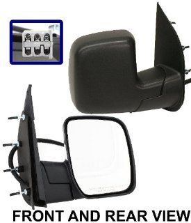 Kool Vue FD123ER ECONOLINE VAN 07 08 MIRROR RH, Power, Manual Folding, Textured Automotive