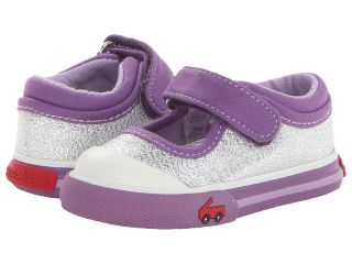 See Kai Run Kids Adalynn Girls Shoes (Silver)