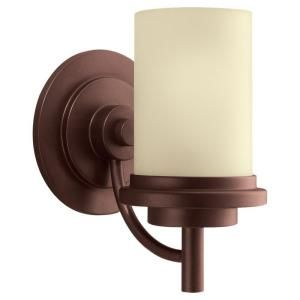 Sea Gull Lighting Winnetka 1 Light Red Earth Wall Bath Fixture 44660 847