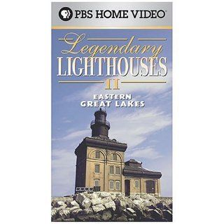 Legendary Lighthouses II   Eastern Great Lakes [VHS] Movies & TV